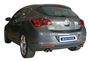 Bastuck Sportauspuff Opel Astra J Turbo incl. Diesel