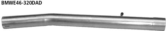 Bastuck Verbindungsrohr BMW Typ: 318d / 320d