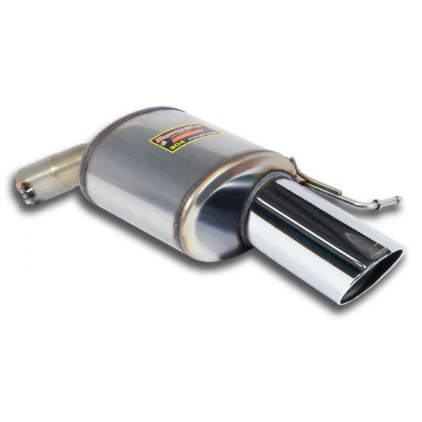 Supersprint Endschalldämpfer Rechts O120 für RANGE ROVER SPORT 5.0i V8 Supercharged (510 PS) 2014-