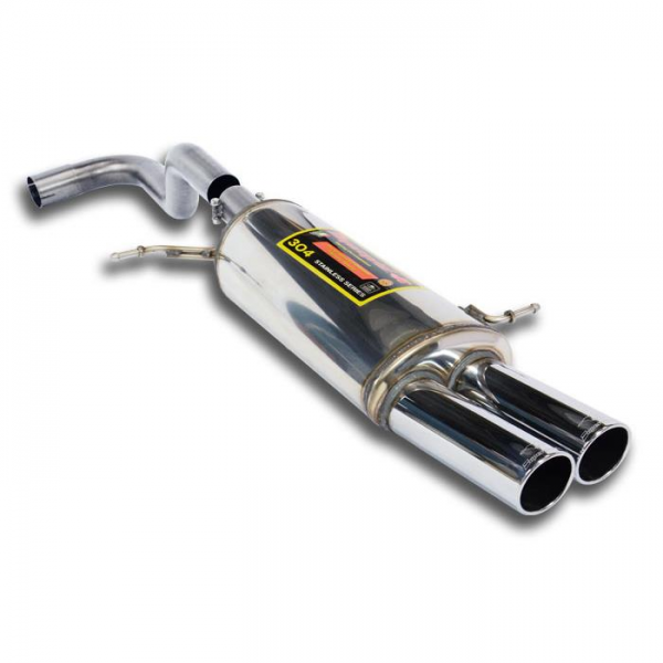 Supersprint Endschalldämpfer OO80 für FORD FIESTA RS 1.6i Turbo (182 PS) 2012-