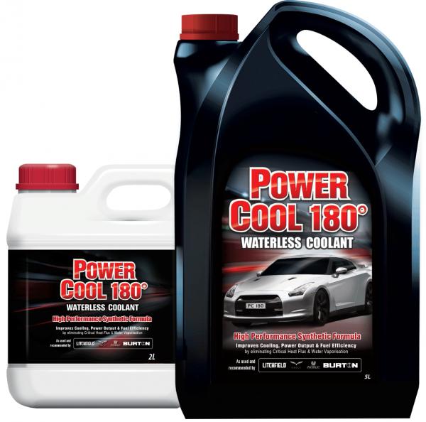 Kühlflüssigkeit Evans Power Cool 180° - 2 Liter