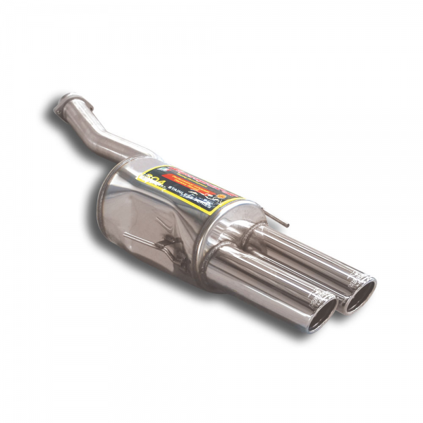Supersprint Endschalldämpfer Links OO 90 für BMW E31 850i V12 (Mot. M70 90- 10/94)