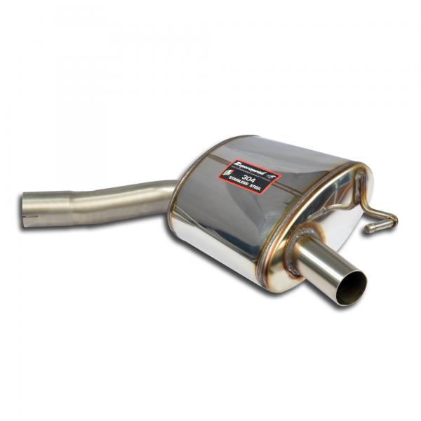 Supersprint Endschalldämpfer Sport Rechts für MERCEDES C205 C 200 4-Matic (2.0i Turbo 184 PS) 2015-