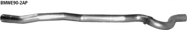 Bastuck Ersatzrohr für Vorschalldämpfer (ohne Zulassung nach StVZO) für BMW 318i / 320i / 320si bis Bj. 02/2007 Limousine(E90), Touring(E91)