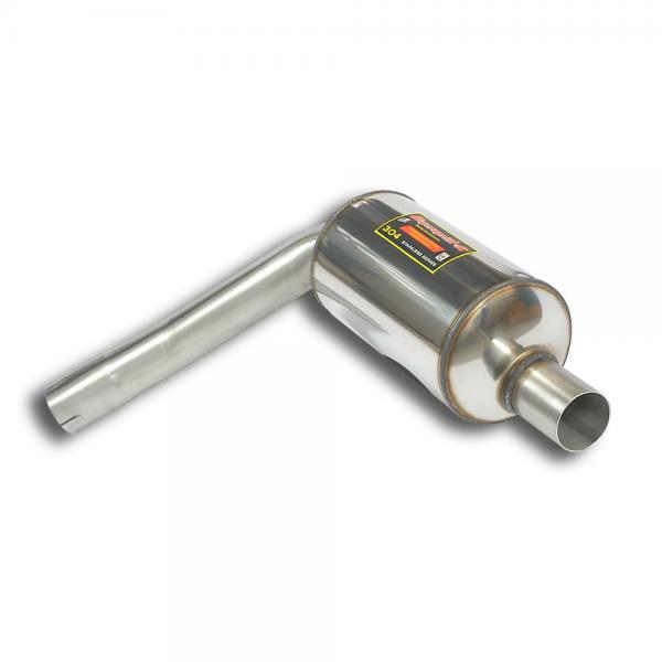 Supersprint Endschalldämpfer Rechts für HONDA CIVIC 2.0i Turbo TYPE-R (310PS) 2015-
