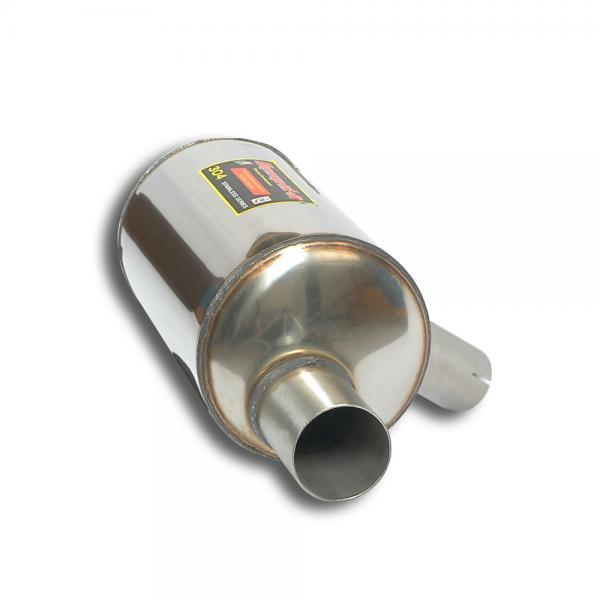 Supersprint Endschalldämpfer Links für HONDA CIVIC 2.0i Turbo TYPE-R (310PS) 2015-