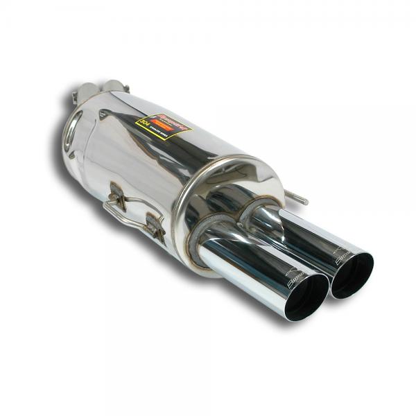 Supersprint Endschalldämpfer 100% Edelstahl OO76 RACE TIPS für BMW E34 540i V8 Limo 93-95