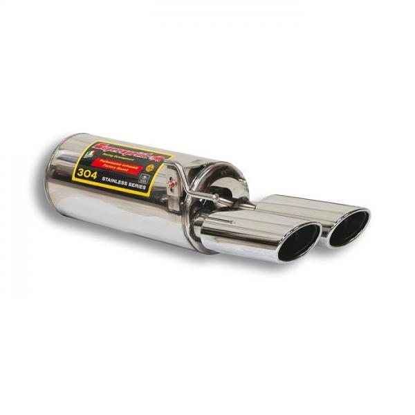 Supersprint Endschalldämpfer Links OO 120x80 für MERCEDES C215 CL 600 V12 (367 PS) 00-