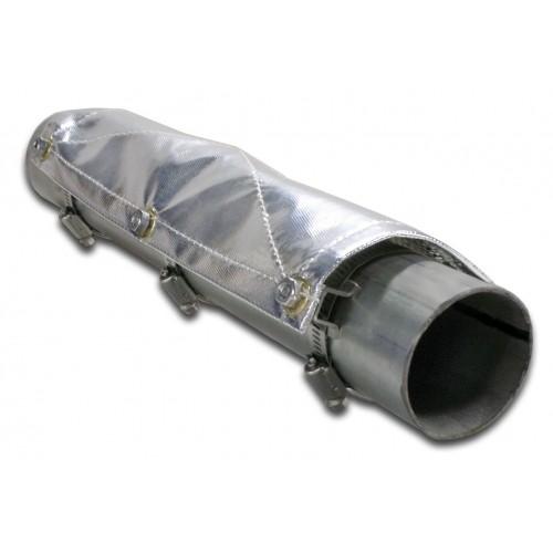 Thermo Tec Rohr-Hitzeschutz Länge 60,4 x 10,2 cm (Spannbereich: 65-89mm)