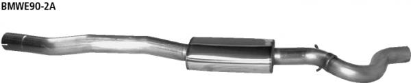Bastuck Vorschalldämpfer für BMW 318i / 320i / 320si bis Bj. 02/2007 Limousine(E90), Touring(E91)