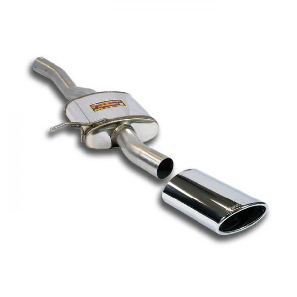 Supersprint Endschalldämpfer Links 145x95 für JAGUAR XKR Coupe / Cabrio 4.2i V8 Supercharged 06-