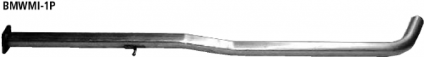 Bastuck Ersatzrohr für Vorschalldämpfer (ohne Zulassung nach StVZO) BMW Typ: Mini R50 Querschalldämpfer