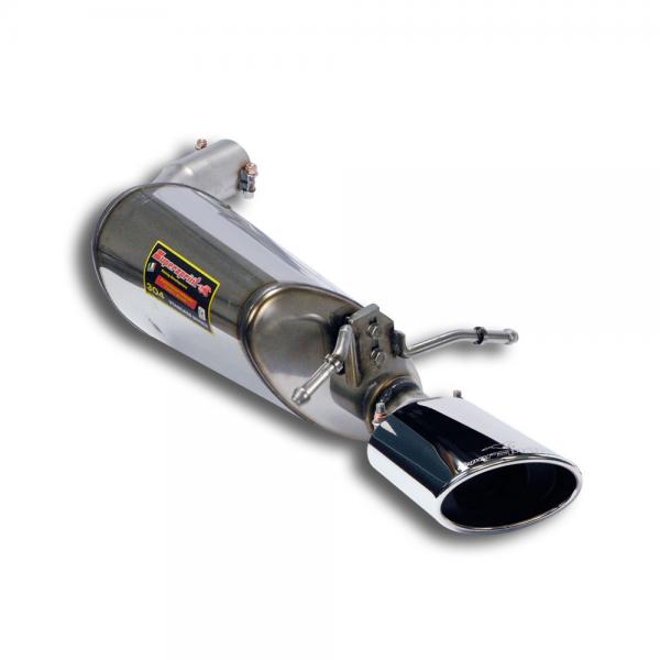 Supersprint Endschalldämpfer Links 145x95 für MERCEDES A207 E 350 CDI Cabrio (231 PS/265 PS) 2009- 2013