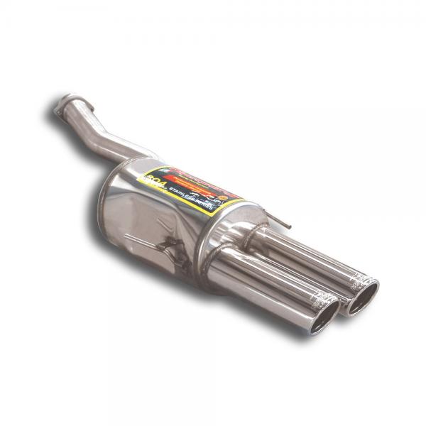 Supersprint Endschalldämpfer Links OO 90 für BMW E31 840Ci V8 (M62) 95- 99