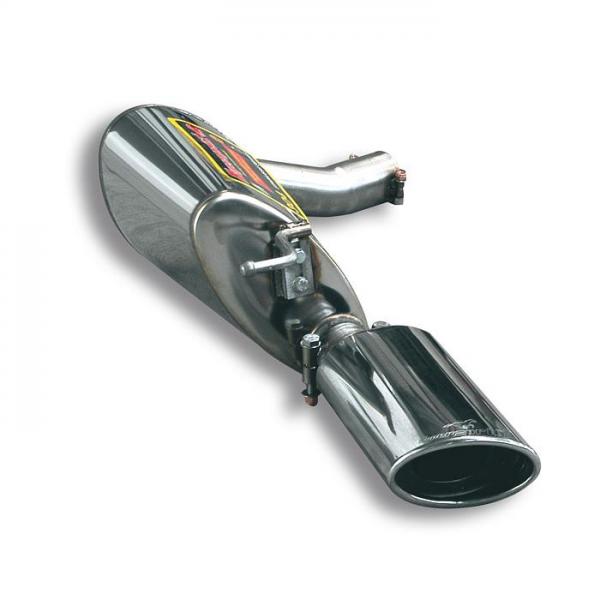 Supersprint Endschalldämpfer Links O 145x95 für MERCEDES C219 CLS 500 V8 2004- 2006