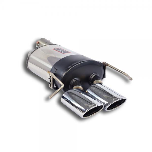 Supersprint Endschalldämpfer 120x80 für MERCEDES A209 Cabrio CLK 500/550 V8 (5.4i - 388 PS) 06-