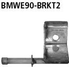 Bastuck Halter für Endschalldämpfer hinten rechts für BMW 316d / 318d / 320d Limousine(E90), Touring(E91)