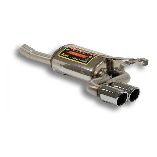 Supersprint Endschalldämpfer OO 76 - Verfügbar auf Anfrage für MERCEDES W124 Cabrio 320CE 24V 92-96
