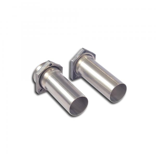Supersprint Verbindungsrohrsatz mit Flansche für MERCEDES C215 CL 500 V8 00-