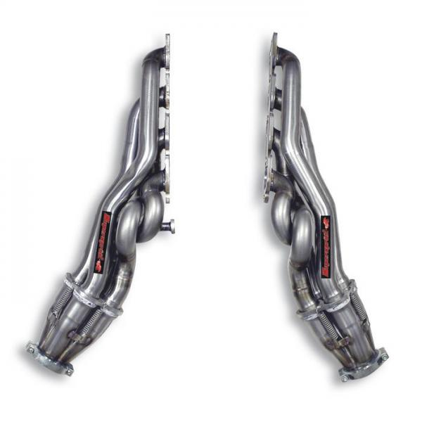 Supersprint Fächerkrümmer Rechts - Links - (Left Hand Drive) für LAND ROVER DISCOVERY 3 4.4 V8 (Motore FORD) 2005-