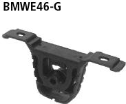 Hinterer Aufhängegummi für Endschalldämpfer BMWE46/C- oder BMWE46/C-Q BMW Typ: 320d Compact