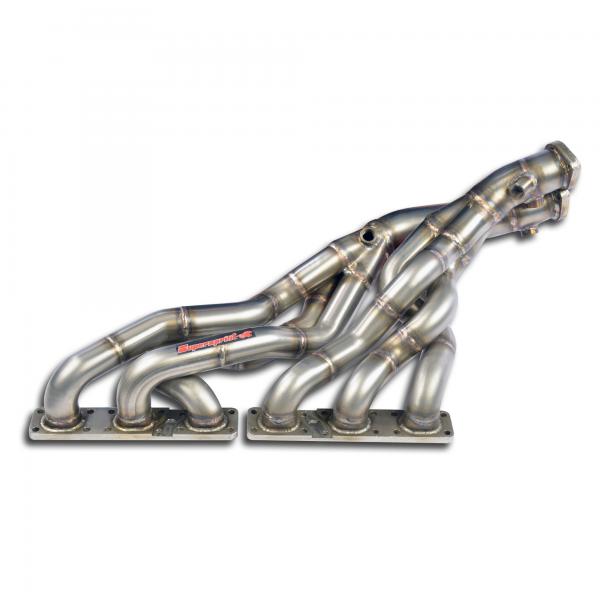 Supersprint Fächerkrümmer - (Right Hand Drive) - (für Katalysator Ersatz) für BMW Z3 Roadster 2.2i 01-02
