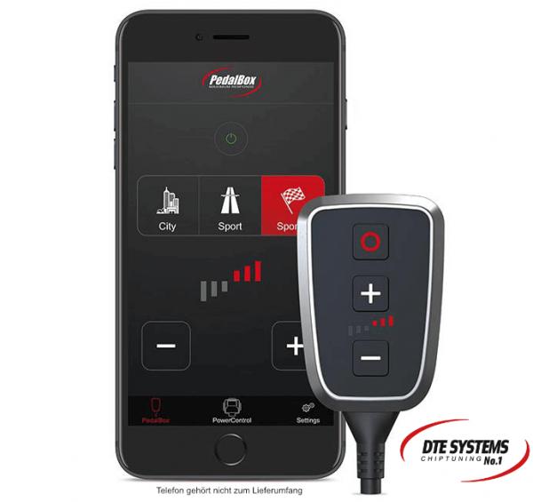 PedalBox Plus (inkl. App) für AUDI A6 1.8 TFSI 190PS/140kW 1798ccm Bj. 05/2011-09/2018