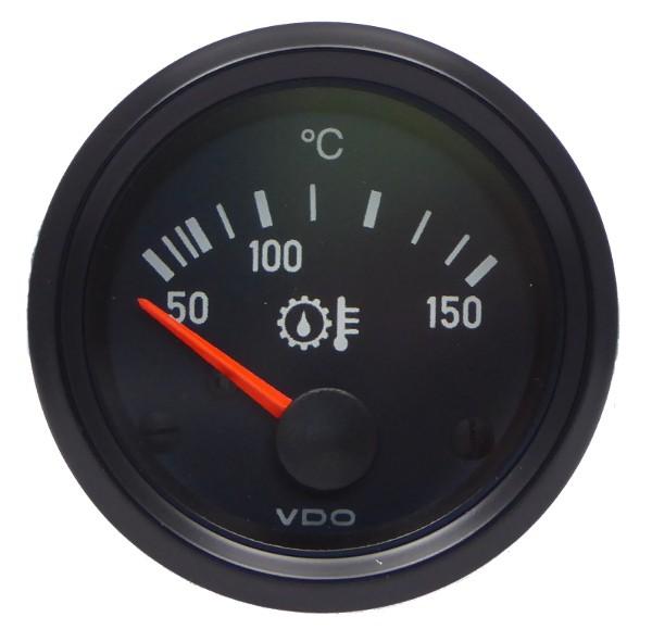 "VDO ""international"" Ölthermometer Getriebeöl 24V d=52mm 50-150°C"
