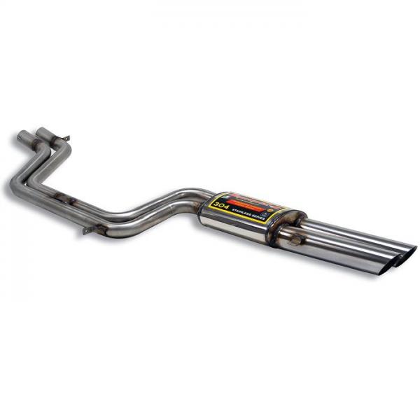 Supersprint Endschalldämpfer Rechts OO70 - Verfügbar auf Anfrage für FERRARI GTS/4 Daytona 69-