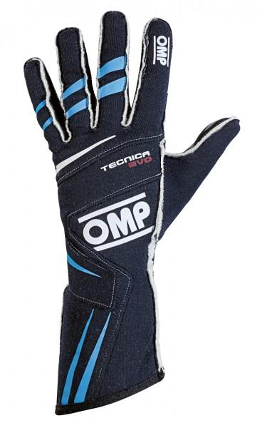 OMP Handschuh Tecnica Evo - dunkelblau / blau