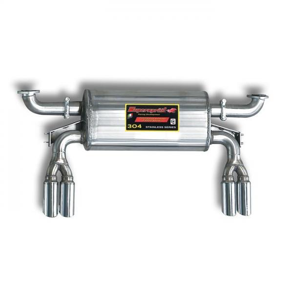 Supersprint Endschalldämpfer Rechts OO63 + Links OO63 - Verfügbar auf Anfrage für FERRARI 308 Quattrovalvole GTB / GTS 82- 85