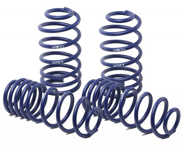H&R Sportfedern für Skoda Superb Lim. Typ 3T, 2WD, bis 1069 kg VA-Last 07/08>