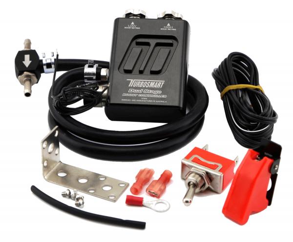Turbosmart Dual Stage V2 manuelles Ladedruck Regelventil - schwarz