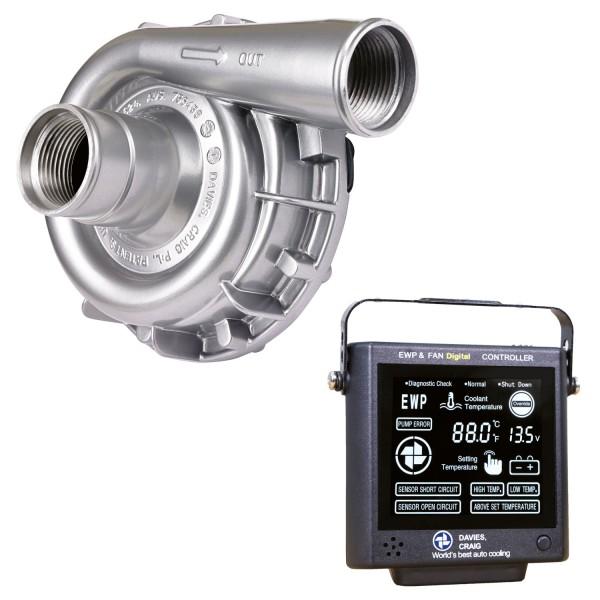 Davies Craig Panel + elektrische Wasserpumpe 12V - 115 L/min