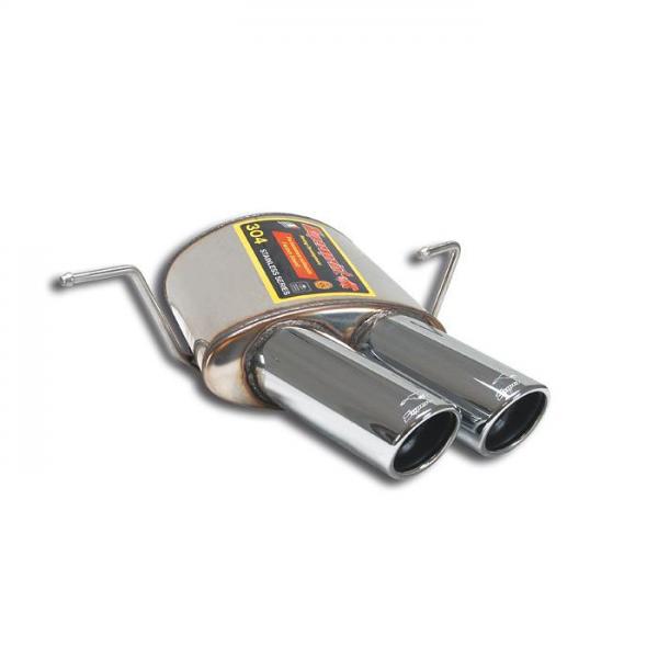 Supersprint Endschalldämpfer Links OO 90 für MASERATI Spyder Gransport 4.2i V8 (400 PS) 2005- 2007