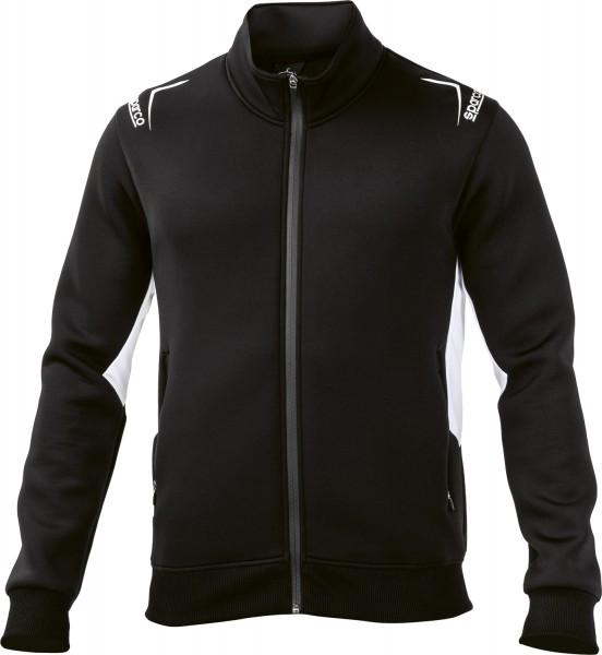 Sparco Jacke Full Zip - schwarz