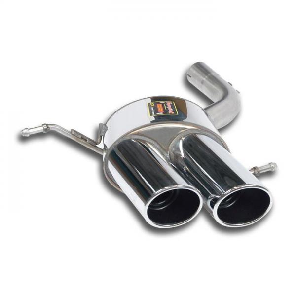 Supersprint Endschalldämpfer Links OO 100 für MASERATI GranCabrio 4.7i V8 (440 / 450 PS) 2009-