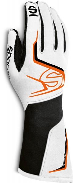 Sparco Karthandschuh Tide K - weiss/orange (Mod. 2020)