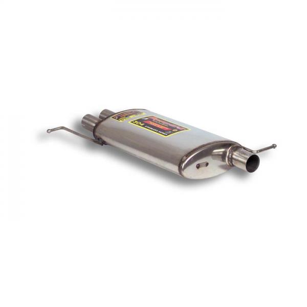 Supersprint Mittelschalldämpfer für MERCEDES W163 ML 320 V6- 04