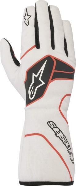 Alpinestars Handschuh Tech 1 Race v2 - weiss/schwarz/rot (Mod. 2020)