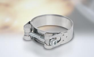 Powersprint Construct Edelstahl Spezial-Bandschelle Ø 48 mm - 51 mm