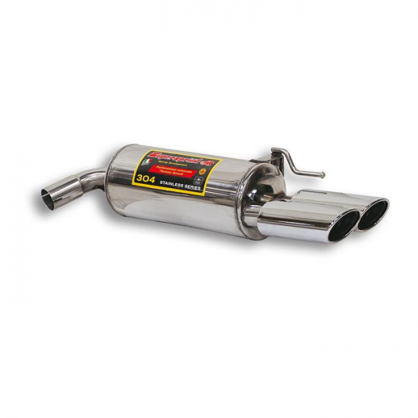Supersprint Endschalldämpfer Rechts OO 120x80 für MERCEDES C215 CL 600 V12 (367 PS) 00-