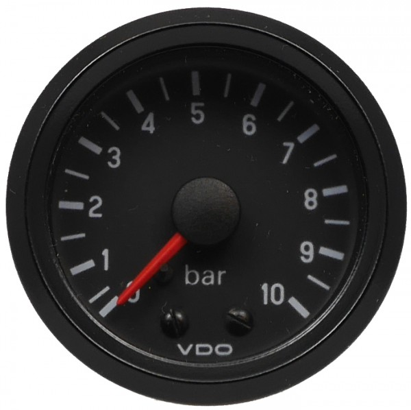 "VDO ""international"" Öldruckanzeige mechanisch 24V d=52mm 0-10 bar"