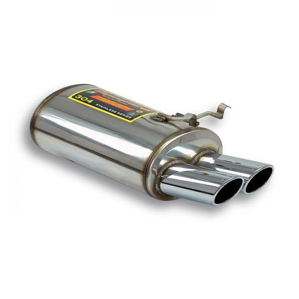 Supersprint Endschalldämpfer OO 100x75 für MERCEDES R129 SL 300 24v (231 PS) 89- 94