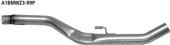 Bastuck Ersatzrohr für Vorschalldämpfer ohne Zulassung nach StVZO) BMW Typ: Z3 Roadster / Coupé 6 Zyl. ab 08/98