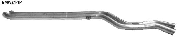 Bastuck Ersatzrohr für Vorschalldämpfer (ohne Zulassung nach StVZO) BMW Typ: Z4 Roadster Facelift inkl. Coupé ab 01/06