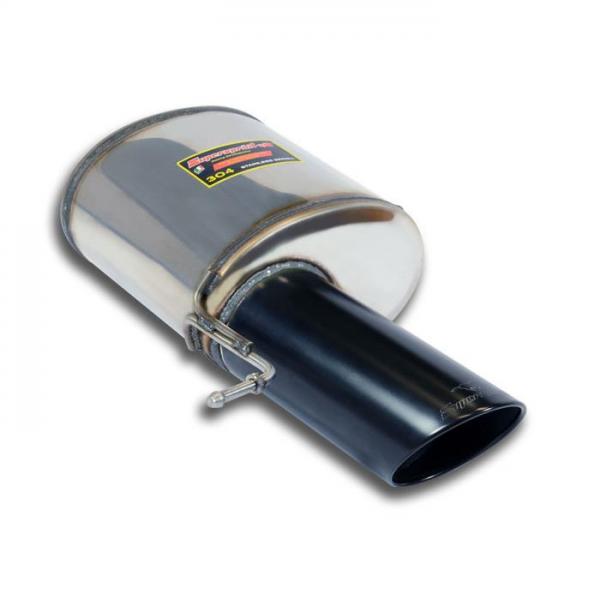Supersprint Endschalldämpfer Links Black O120 für RANGE ROVER SPORT 3.0i V6 Supercharged (340 PS) 2014-