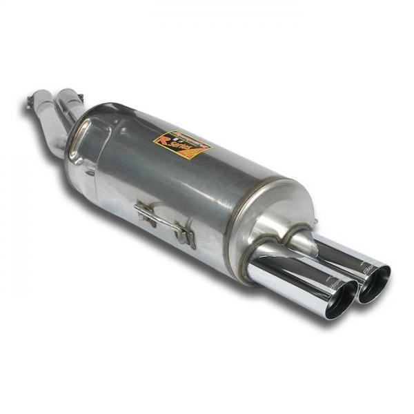 Supersprint Endschalldämpfer OO76 für BMW E34 530i (6 cil.- M30) 87-92