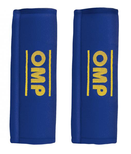 OMP Gurtpolster 3 Zoll (75mm) - blau