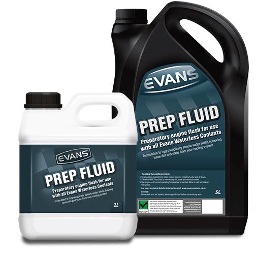 Kühlsystem-Reinigungsflüssigkeit Evans Prep Fluid - 2 Liter